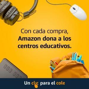 DONA A TU CENTRO EDUCATIVO CUANDO COMPRES EN AMAZON.